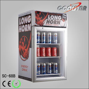68L Soft Drinks Glass Door Refrigerator pictures & photos