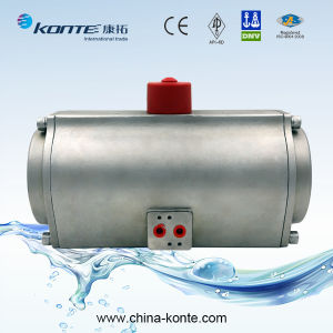 Rt Series Ss304/Ss316 Stainless Steel Pneumatic Actuator with Double Acting/Single Acting pictures & photos