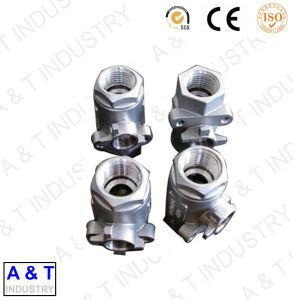 OEM High Quality CNC Machining Steel Investment Casting Pump Parts pictures & photos