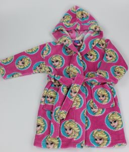 Childre′s Diseny Fronzen Fleece Bathrobe Make of 100%Polyester Coral Fleece pictures & photos