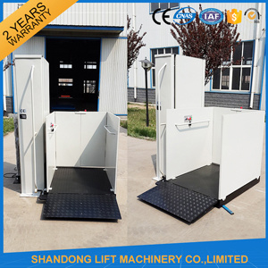 Cheap Electric Vertical Residential Lift Elevator for 1 Disabled Person pictures & photos