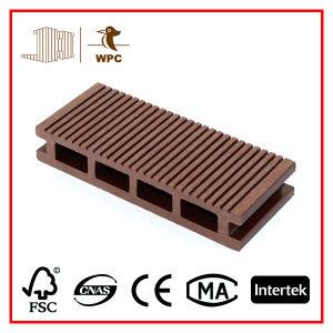 Hollow 135*25mm Anti-Slip WPC Decking