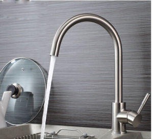 Flg Stainless Steel Sanitary Ware Taps for Kitchen pictures & photos