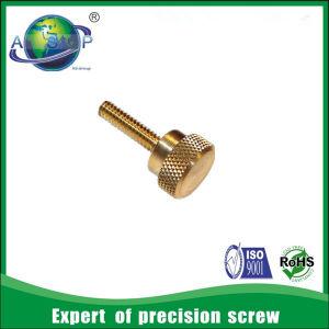 Knurled Thumb Screw M4 Brass Knurled Thumb Screw