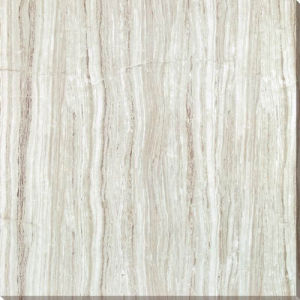 5D Fully Polished Glazed Gray Wood Grain Porcelain Floor Tile pictures & photos