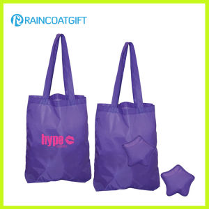 Promotional Foldable Polyester Advertising Tote Bag pictures & photos