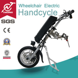 Strong Aluminum Frame Wheelchair Electric Handcycle 36V 250W /350W pictures & photos