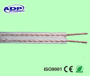 PVC Insulation Transparent 2 Core Speaker Cable pictures & photos