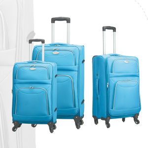 Polyester Suitcase with Good Quality Factory Price pictures & photos