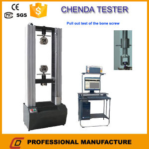 Wdw-100 Electronic Universal Testing Machine +Four Point Bending Test of Bone Plates+Pull out Strength Test of Medical Bone Screw pictures & photos
