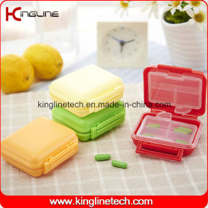 Plastic 6-Cases Pill Box (KL-9102) pictures & photos
