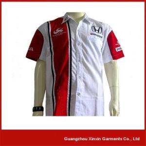Guangzhou Factory Custom Made Cotton Racing Shirts (S08) pictures & photos