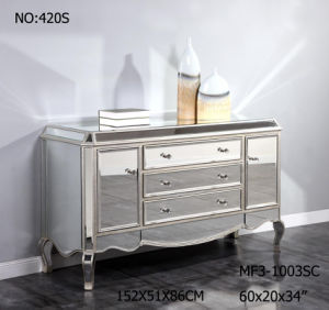 Big Storage Customized Mirrored Dresser for Bedroom pictures & photos