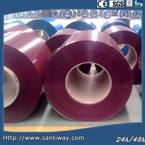 Prime Color Coated PPGI Hot DIP Prepainted Galvanized Steel Coil pictures & photos
