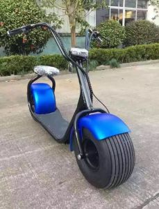 2016 Hot Selling 1000W 60V Ce Approved Electric Double Seat Mobility Scooter Electric Scooter pictures & photos