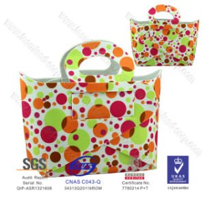 2014 Popular Dots Colorful EVA Fashion Tote, Stylist Shopping Bag pictures & photos
