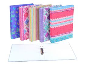 Quality A4 Red / Orange /Green PVC Lever Arch File Folder pictures & photos
