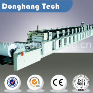 CE High Quality Dialyzing Paper Flexo Printing Machine