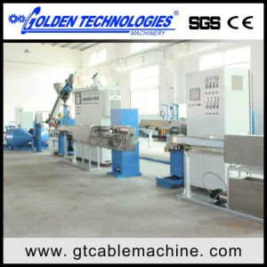 PVC Sheathed Cable Wire Extrusion Machine pictures & photos