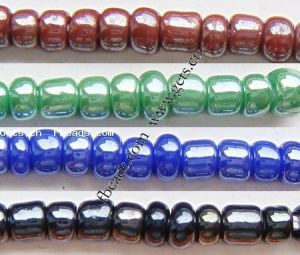 Opaque Lustrous Glass Seed Beads (080912204133)