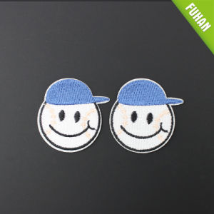 Personalized Iron on Custom Logo Embroidery Patch for Clothing pictures & photos