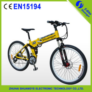 "Trendy Design 26"" Electric Mountain Bicycle Hidden Battery pictures & photos"