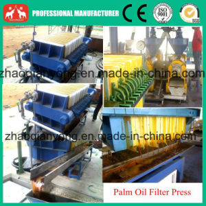 Automatic Hydraulic Plate and Frame Coconut Oil Filter Press Machine pictures & photos