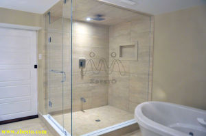 1200mm Frameless Cheap Toughened Shower Enclosure Glass Door Panels Manufacturer