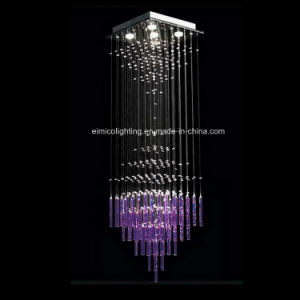 Modern Crystal Chandeliers with Glass Tube (3317-5)