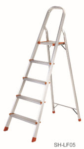 Step Stool Foldable Aluminum Ladder (SH-LF05) pictures & photos