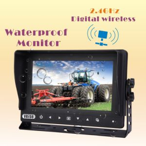 Wireless Waterproof LCD Monitor Rearview System with 2CH Input pictures & photos