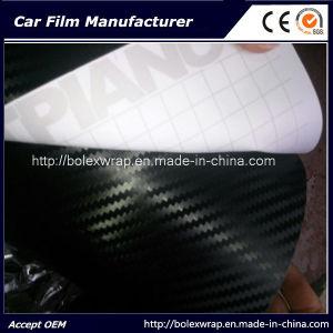 3D Carbon Fiber Car Wrap Vinyl Film, Carbon Fiber Vinyl, Carbon Fiber Vinyl Roll pictures & photos