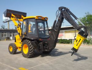 Ce Approved Rhinoceros 7 Ton Backhoe Loader with Spare Parts pictures & photos