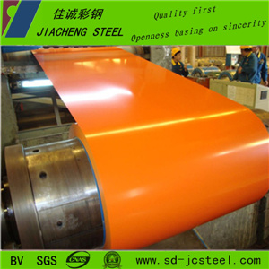 China Very Competitive Color Galvanized Steel Coil for Building Material