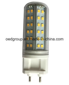 AC85-265V 8W G12 LED Corn Bulb Epistar SMD with Clear PC Cover Can Be E27/E14 Bases pictures & photos