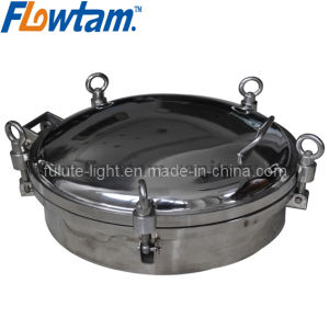 Stainless Steel Sanitray Pressure Manhole Cover pictures & photos