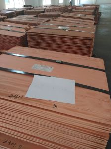 Copper 99.99 Pure/Pure Cathode Copper/Copper Cathodes Price for Sale pictures & photos