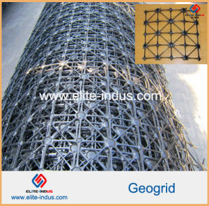 Polypropylene Triaxial FRP PP Quaxial Geogrids pictures & photos