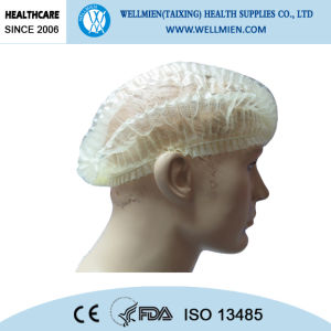 Hospital Use Disposable Non-Woven Medical Doctor Caps with Ties pictures & photos