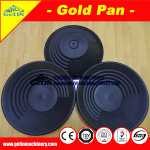Low Cost Alluvial Gold Pan, Gold Washing Pan for Sand Gold Ore Washing & Separation pictures & photos