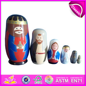 2014 Custom Matryoshka Dolls for Kids, Custom Matryoshka Dolls for Children, Custom Matryoshka Dolls Toy for Baby Factory W06D037 pictures & photos