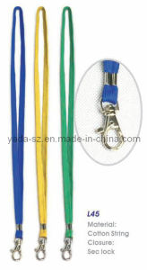 Cotton Lanyard (L45) pictures & photos