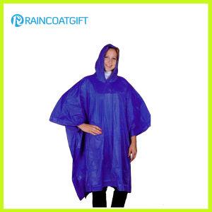 Promotional Purple PVC Rain Poncho RGB-162 pictures & photos