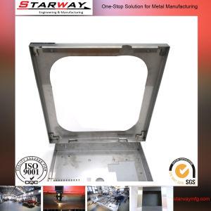 Customized Aluminum Sheet Metal Fabrication Box pictures & photos