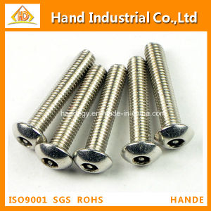 Stainless Steel 304 Socket Pin Button Head Anti-Theft Security Screws pictures & photos
