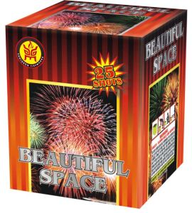Beautiful Space (KL1025) Cake Fireworks