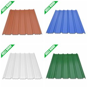 High Quality Color Stable UPVC Trapezoidal Roofing Panel pictures & photos