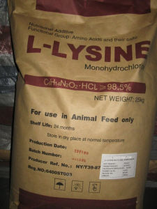 98.5%Min Lysine-HCl for Animal, Like Swine, Cattle pictures & photos