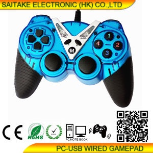 USB-PC Single Vibration Gamepad Stk-2020 pictures & photos