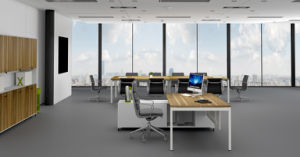 Uispair Modern High Quality Telescopic Beam Office Executive Manager Table pictures & photos